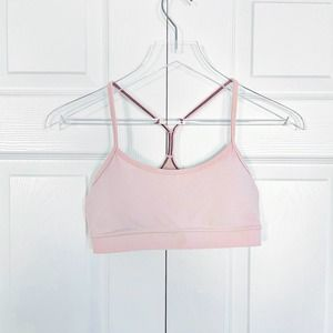 Lululemon Yoga Bra in Baby Pink